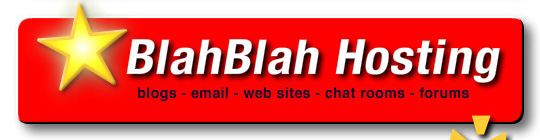 Get Your BlahBlah Hosting Account
